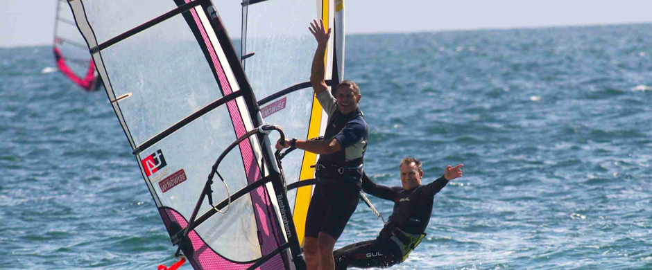 Introduce your mates to windsurfing
